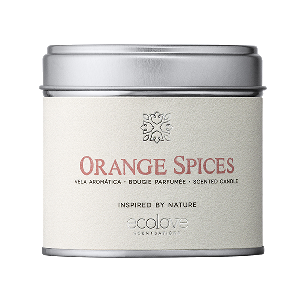 vela perfumada orange spices